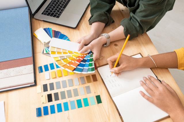 Choisir sa gamme ou palette de couleur