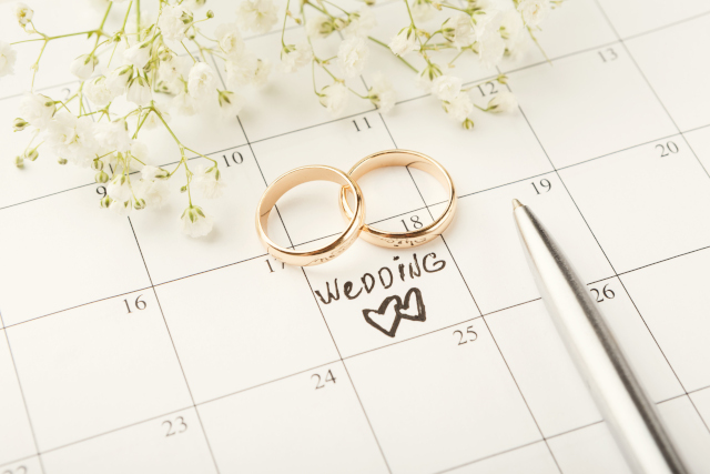 wedding planner calendrier