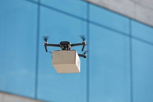 Livraison des colis Amazon par drone