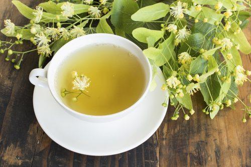 Thé au tilleul aux fleurs citron vert