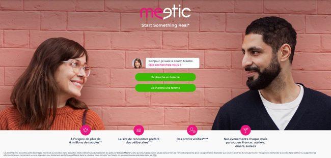 Site de rencontre sérieux pour trouver l'amour  Meetic