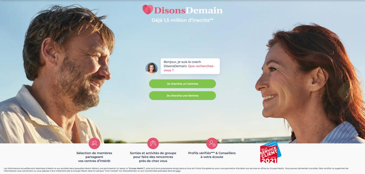 Site de rencontre trouvez des célibataires de plus de 50 ans DisonsDemain