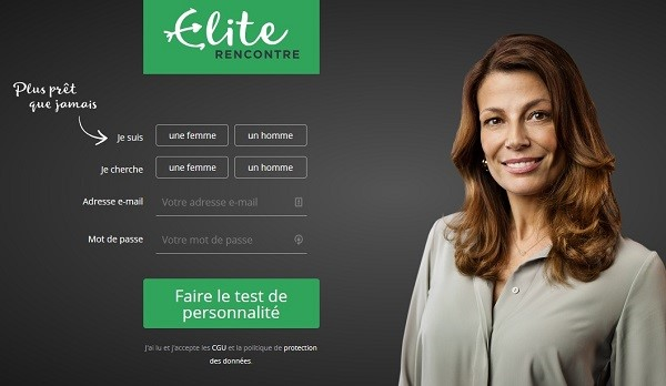 inscription Elite dating