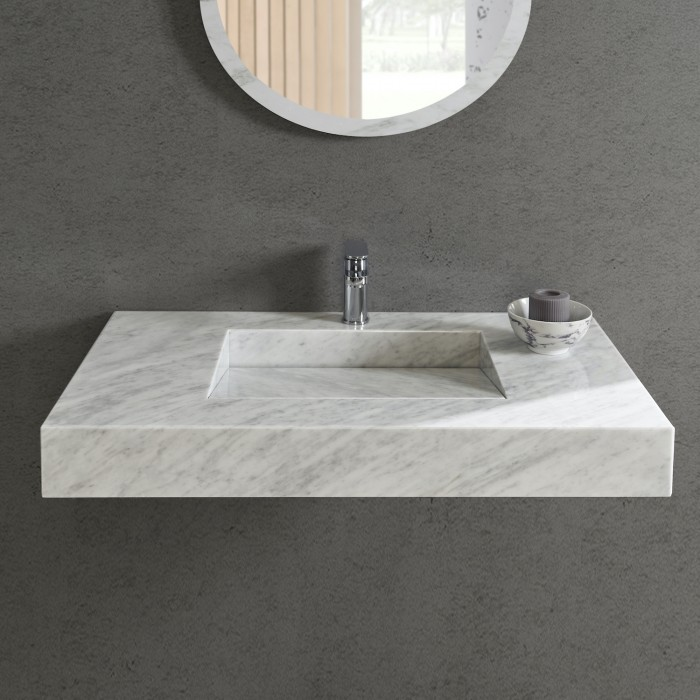lavabo en marbre