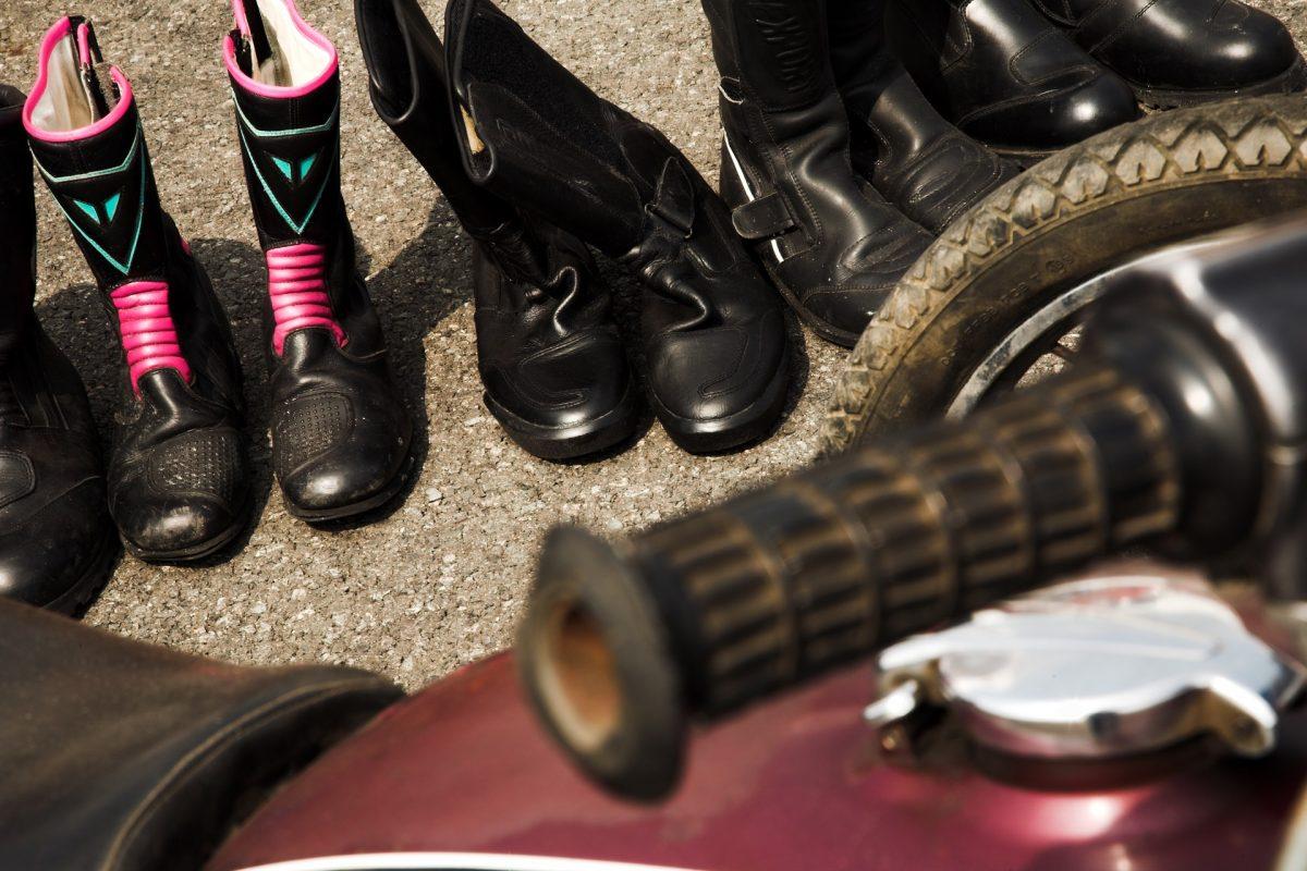 chaussures de moto