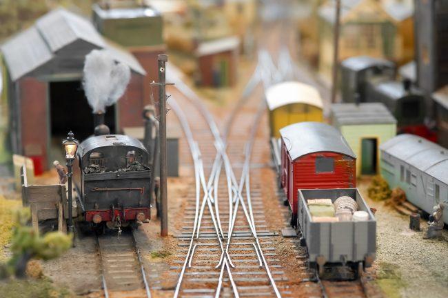 diorama ferroviaire fret