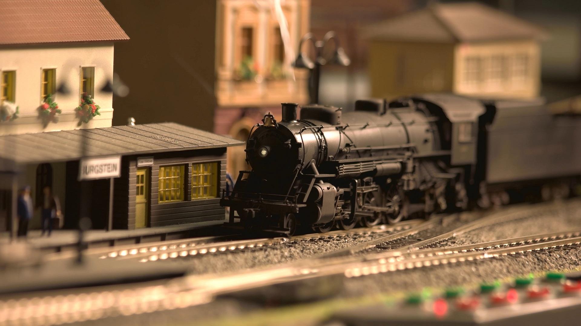 diorama gare ancienne