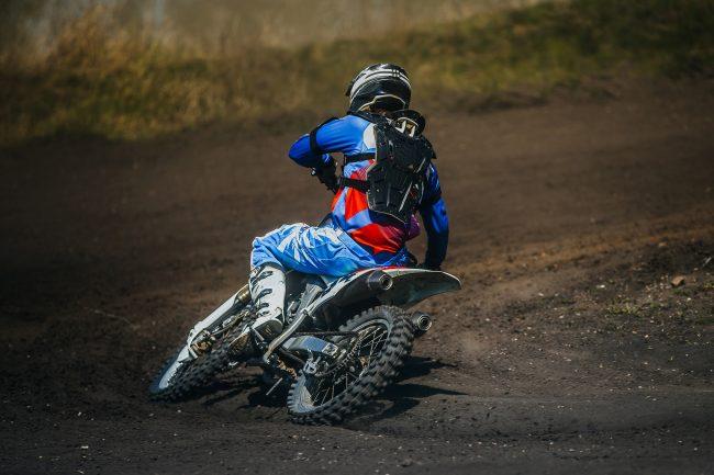dorsale moto cross