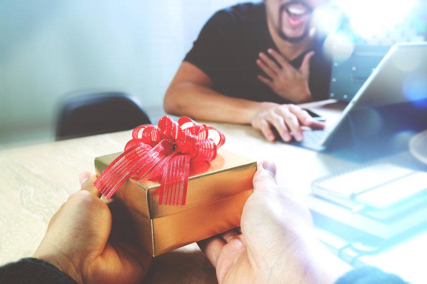 cadeau de bienvenue d'entreprise